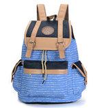 Стильный вместительный тканевый рюкзак В Наличии