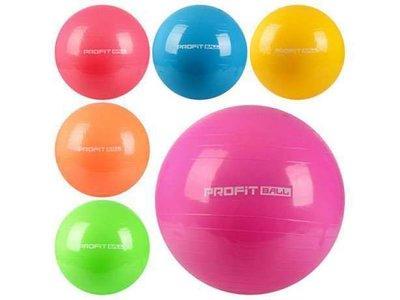Мяч фитбол для фитнеса Profit Ball 65, 75, 85 см. Гладкий и Шипованный
