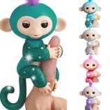 WowWee Fingerlings Interactive Monkey Оригинал Интерактивная обезьянка с блестками