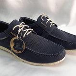 Весенне-Летние мужские мокасины на шнурках Bertoni 40,41,42,43.44.45р.
