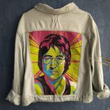 Ручная роспись джинсовых курточек под заказ