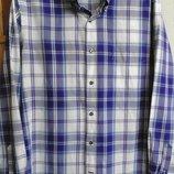 Мужская рубашка в клетку Massimo Dutti