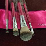 Шикарный Набор кисточек для макияжа в косметичке Farmasi/Фармаси Турция