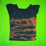 Стильная футболка ржавка