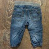 H&M, стильные джинсы на резинке, унисекс, в идеале, до 1,2 годика