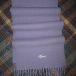 Шарф шерстяной Gant, мягкий, 100% шерсть, Италия, 152 см х 24 см