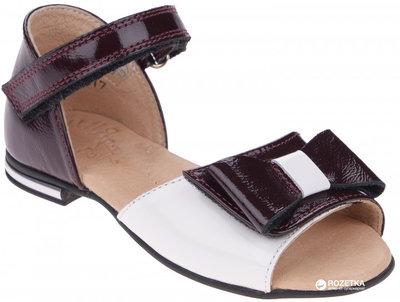 Туфли босоножки кожаные для девочки, новые, нарядные, Берегиня, 31,32,33,34,35