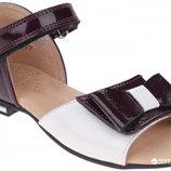 Туфли кожаные для девочки, новые, нарядные, Берегиня, 31,32,33,34,35