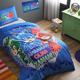 Герои в масках - детское постельное белье TAC PJ Masks glow. Светится