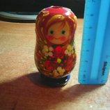 Кукла -матрешка деревянная.