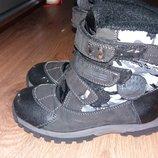Термо ботинки для мальчика 30размер