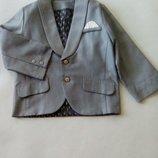 Choupette.Пиджак классический, серый