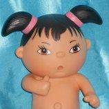 прикольная потрясная виниловая кукла Les Beedibies Corolle Франция оригинал клеймо 22 см