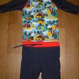 Солнцезащитные раздельные костюмы для купания 1-2 года. 3-4 года, 5-7 лет