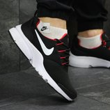Мужские кроссовки Nike Air Presto Fly Uncaged black/red