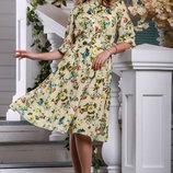 Платье 44,46,48,50 размеры 2 цвета