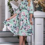 Платье 44,46,48,50 размеры 3 цвета