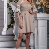 Платье 44,46,48,50 3 цвета