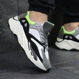 Кроссовки Adidas Yeezy Boost 700 gray/black, Топ качество