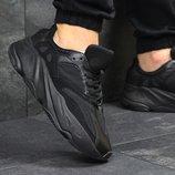 Кроссовки Adidas Yeezy Boost 700 black, Топ качество