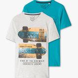 Набор стильных футболок для мальчика C&A Германия Размер от 122 до 164