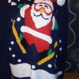 новогодний 3Д свитер