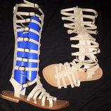 38р-24.8 кожа римские сандали