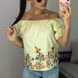 Блузка женская 4 цвета 1072вп