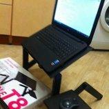 Столик подставка для ноутбука Laptop table Т8 подставка с кулером
