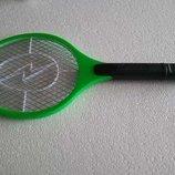 Электромухобойка ракетка на батарейках от мух, комаров, насекомых
