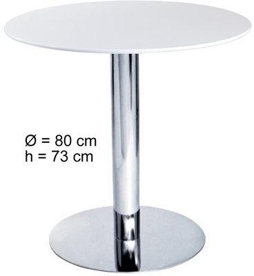 Обеденный круглый стол TUL диаметр 80 см