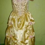 платье принцессы на 5-6 лет