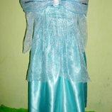 платье Эльзы на 5-6 лет