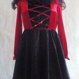 Карнавальное платье божья коровка на девочку 9-10лет