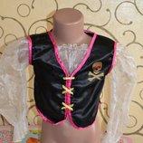 Карнавальная блуза пиратка 3-6 лет