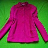 Флисовая курточка малинового цвета Marks & Spencer