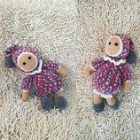 Плюшевая игрушка Куколка - Пупс - ручная работа