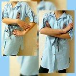 Туника-Платье-Рубашка на девочек.Р.128-152.