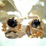 Перстень кольцо кольца перстни ювелирная бижутерия позолота 18 карат Viennois