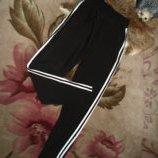 Повседневные брюки спортивного стиля с лампасами с 46 по 56р