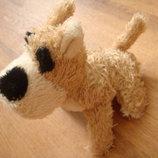 Мягкая игрушка собачка собака эльвадотерьер