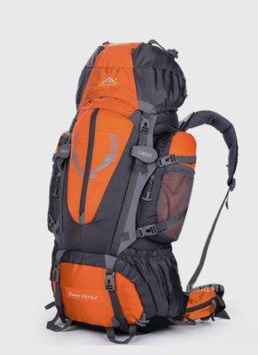 Рюкзак походный туристический Outland 80 L orange