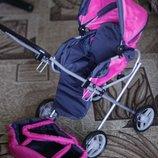 Детская коляска для кукол трансформер 9391
