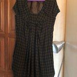 Брендовое крутое шерстяное платье Kaylee Tankus, оригинал, р-р М