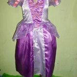 платье Рапунцель на 3-4 года