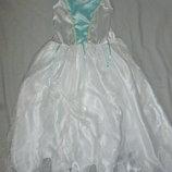 платье Снежной Королевы на 8-10 лет