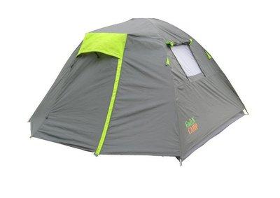 Палатка четырехместная GreenCamp 1013-4 подарок