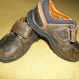 Кожаные ботинки HUSH Puppies, стелька 14,6см