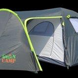 Палатка 4-х местная Green Camp 1009 подарок