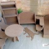 Мебель для кукольного домика Барби
